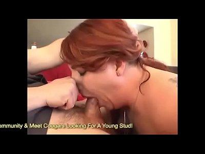 rossa casalinga conati di vomito sul cazzo e in sella alla pecorina