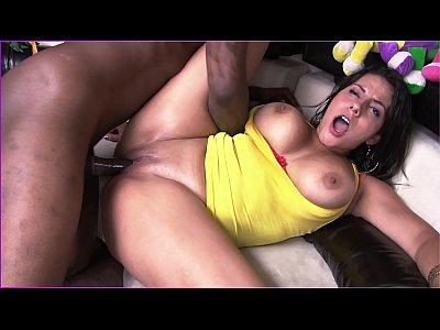 BANGBROS - Latina Juliana Gets Her Culo Grande Stuffed With Big Black Cock