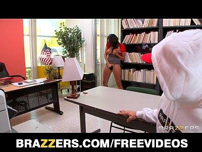 Sexy big-tit Latina Librarian Missy Martinez fucked hard at work