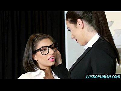 Nasty Lesbians (darcie&jelena) In Punish Hard Game On Tape vid-21