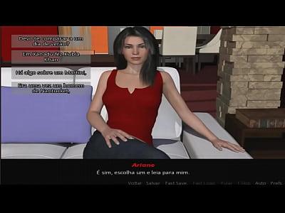 Date Ariane em busca do sexo #2 Levei ela para jantar