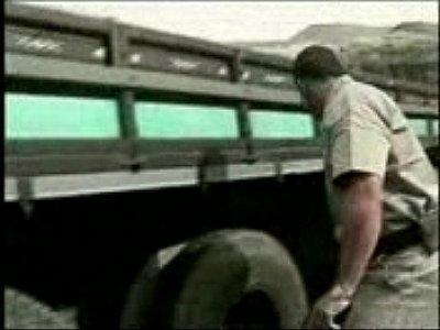 Dura do PM no Caminhoneiro BR