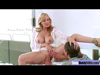 Mature Lady (julia ann) With Big Melon Tits Fucks video-02