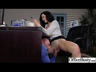 (jayden jaymes) Big Boobs Girl Enjoy hard Style Sex In Office clip-17