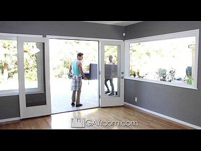 HD - GayRoom Cute guy is fucked by his muscular friend