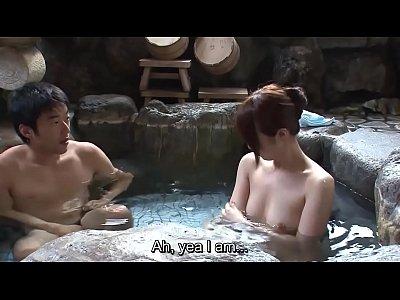 Babe, Blowjob, Threesome, Group, Asian, Teen (18+), Bath, Japanese, hd, uncensored