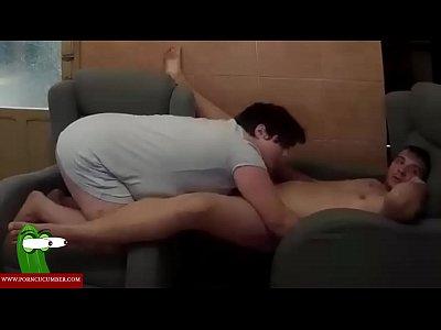 Hardcore Couple Blowjob video: Fucking hard in the sofa. RAF047