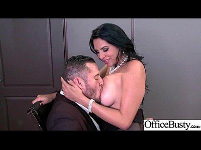 (Missy Martinez) Sexy Big Tits Office Girl Love Hard Sex clip-25