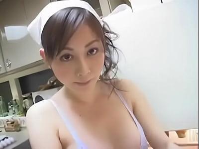 tits, Kitchen, Beauty, Big Tits, Babe, Japanese, Asian