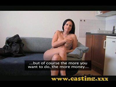 casting - le tette che ha bisogno di essere scopata