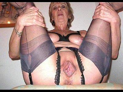 mature women spreading 4