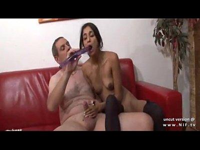 6814277 casting amatoriale coppia di francesi con una giovane bruna analizzati