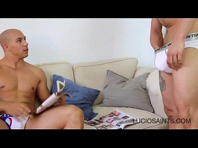 Victor Lopez & Aaron Armada straight masturbate