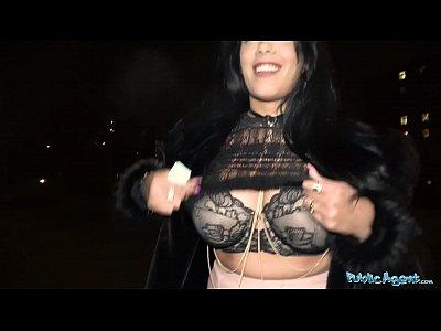 Public Agent Busty latina rides big fat cock