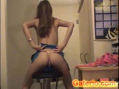 rubia adolescente teen desnuda sin ropa por webcam