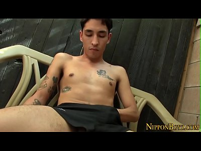 #cumshot_masturbation_big cock_solo_asian_outdoor_gay_japanese_hd