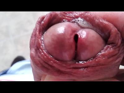 Gooey soft cockhead! Anyone wanna lick it clean?