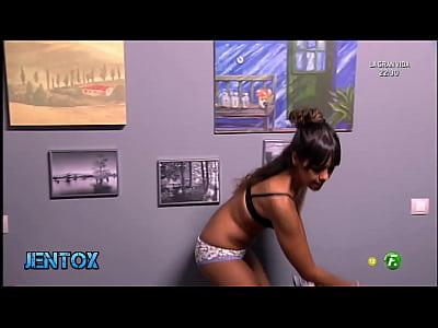 Cristina Pedroche en ropa interior LQSA Jntx