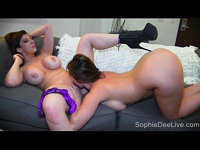 Legendary Big Tit Pornstars Sophie Dee and Sara Jay!