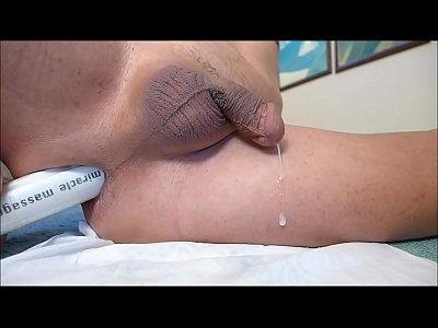 Anal masturbation and hand-free cum.