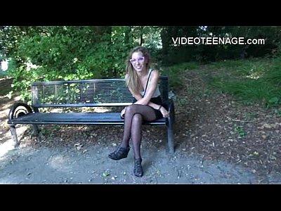 bionda timido teen primo casting porno