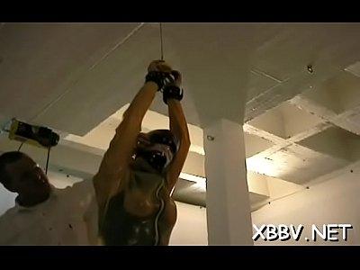 Watch chick gets mangos tied hard in complete bondage show on xxxvedio xyz | Bondage Videos on xxxvedio xyz | Page 1 |