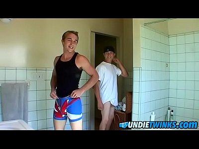 Kelly Cooper watches sexy Grant Hiller change underwear