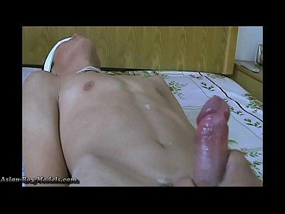 Lean Asian Boys Bound Cum