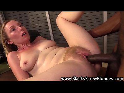 Slut fucks big black cock