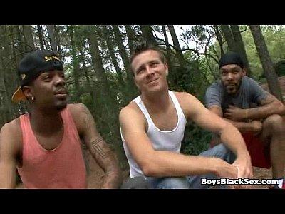 BlacksOnBoys - Black gay boys fuck teen white sexy dudes 14