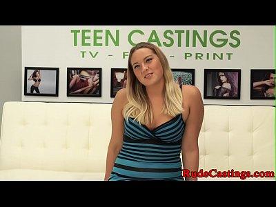 Reale brutale casting per bigass teen