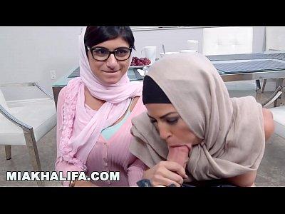 Interracial, Blowjob, Glasses, Compilation, Arab