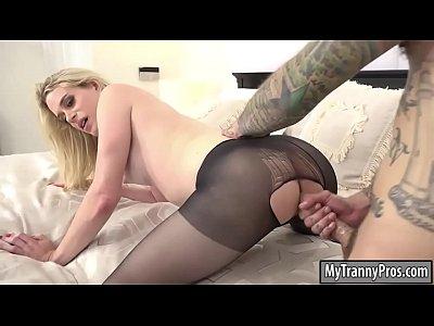 Anal, Blonde, pornstar, Blowjob, Big Tits, Shemale, Pantyhose