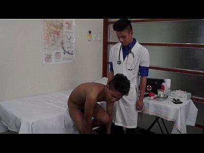 Kinky Medical Fetish Asians Argie and CJ Bareback