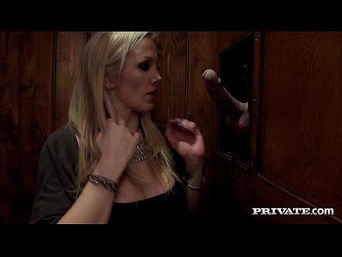 Buxom European MILF Rebecca Moore taking cumshots in MMF threesome  358482