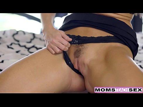 MomsTeachSex - Step Mom Punish Fucks Son Part 1