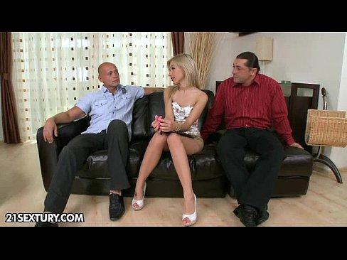 Three Cocks For Sasha Rose