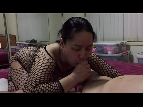 Asian MILF - Sucking Teen Cock Getting Sensitive