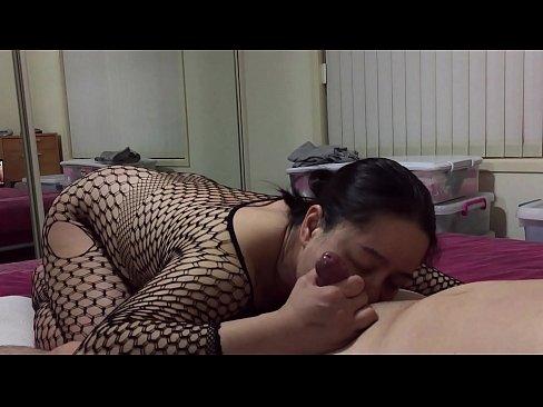Asian MILF - Sucking Teen Cock Getting Sensitive