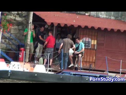 Public nude fetish eurobabe rides waterbike 11 min HD