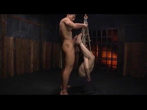 Bondage play of the Japanese woman