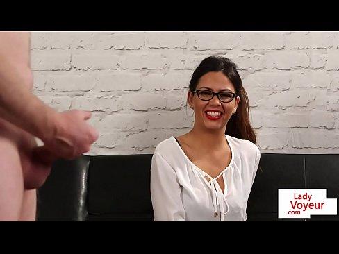 British spex voyeur instructs and watches sub 6 min HD