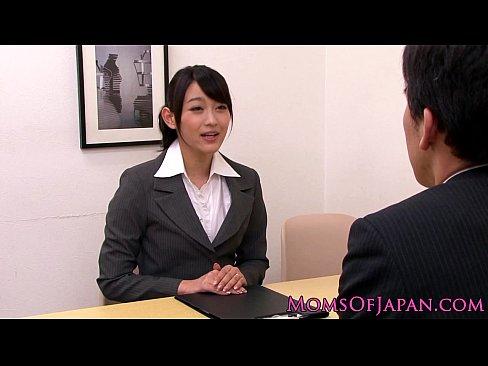 Innocent asian babe licking classy mature box 8 min HD