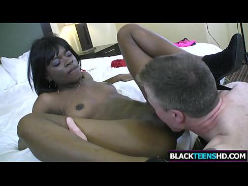 Big Cock For Pretty Dark Teen Jenna Foxx