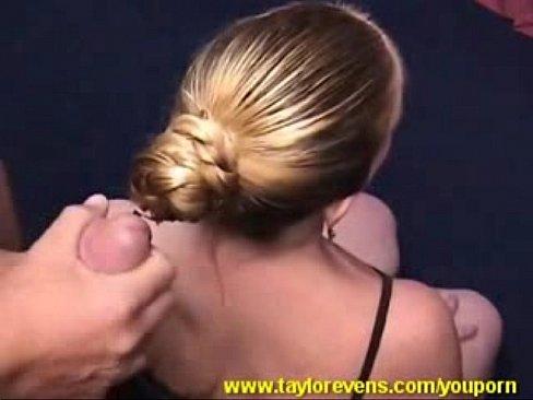 Hot hair cumshot