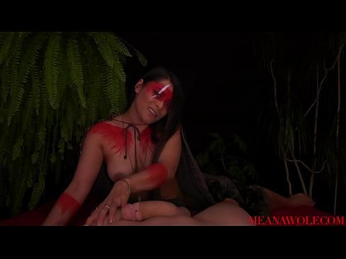 Meana Wolf - Impregnation Fantasy - Amazon Breeding Ritual
