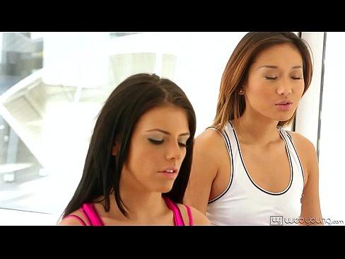 Alina Li And Adriana Chechik Sex Yoga