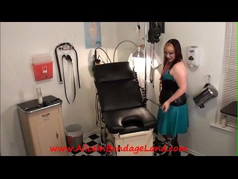 POV Maitresse Renee's Medical Room Rubber Chastity FemDom 5 min