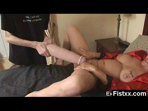 Mega Titty Passionate Fisting Milf Rammed