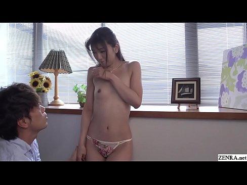 JAV CMNF ENF foreplay with Maki Kogure Subtitled